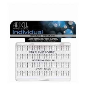 Ardell - Индивидуални мигли - къси/черни - 56 снопчета