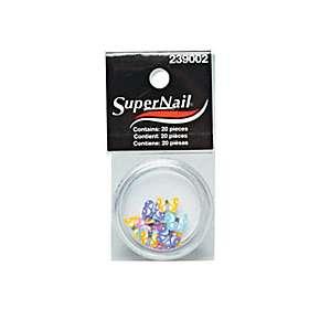 Super Nail- Цветни пеперудки за декорации- 20 бр.